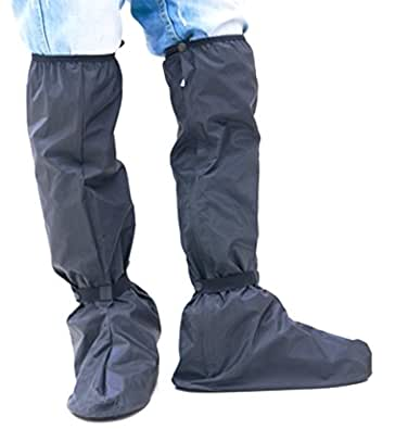 膝上ロング レイン ブーツカバー 収納 コンパクト 3 サイズ (M)