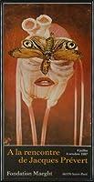 ポスター ジャック プレヴェール Papillon 1987 額装品 アルミ製ハイグレードフレーム(ブラック)