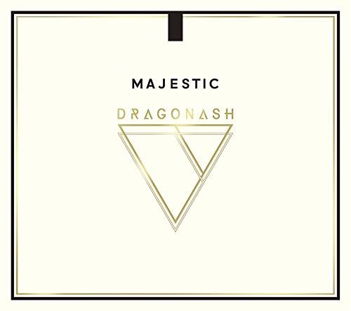【Amazon.co.jp限定】MAJESTIC(初回完全限定盤)(CD+DVD)(Dragon Ashオリジナルネックストラップ 青×赤 &MAJESTIC オリジナルB2ポスター付)