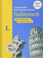 """Langenscheidt Universal-Sprachfuehrer Italienisch - Buch inklusive E-Book zum Thema """"Essen & Trinken"""": Die wichtigsten Saetze plus Reisewoerterbuch"""