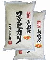 【新米】30年産 新潟県産 白米 コシヒカリ 10kg(5kg×2袋)新潟辰巳屋 (産地直送米)