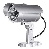 US Warehouse - 1900 Dummy IR シミュレーションフェイクカメラ ホーム監視セキュリティ ライトLED点滅