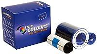 Zebra TrueColours - 800015-540 -Print ribbon black, yellow, cyan, magenta, transparent - 330 images [並行輸入品]