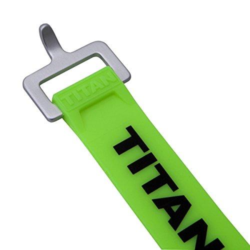(タイタンストラップ)TITAN STRAPS 9インチ(23cm) グリーン TS-0909-FG
