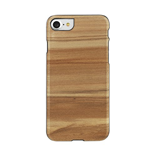 【日本正規代理店品】Man&Wood iPhone7 天然木ケース Cappuccino アイフォン カバー I8071i7