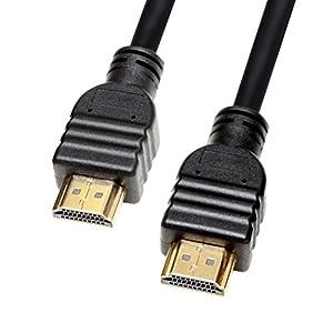 タイムリー HDMIver1.4対応ケーブル [ A(オス) - A(オス)、イーサネット、3D、4K、オーディオリターン対応 ] ケーブル長 1.2m [ PS4/PS3/WiiU/XboxOne/Amazon Fire TV動作確認済み ]