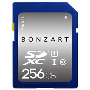 永久保証 BONZART BONZ256GDXC sdカード 256gb SDカード メディア 人気 売れ SDHC Class GB 記録 記憶 sdhc メモリー カメラ カード パソコン ブリスタパッケージ (256G)