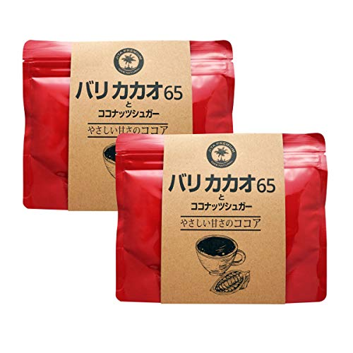 JITAコレクション バリココアとココナッツシュガー 150g (100%天然 無添加)(2個)