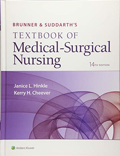 Download Brunner & Suddarth's Textbook of Medical-Surgical Nursing (Brunner and Suddarth's Textbook of Medical-Surgical) 1496347994