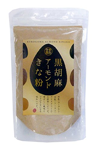 黒胡麻アーモンドきな粉(250g)