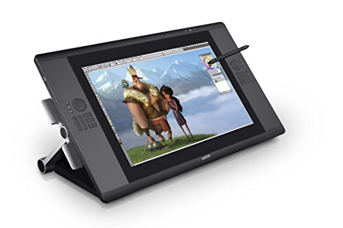 Wacom drawing tablet with screen 24.1 inches Touch function installed Cintiq24HD touch DTH-2400/K0