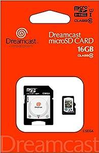 セガハードシリーズmicroSDHCカード+SDアダプターセット『ドリームキャストmicroSDHCカード (16GB) +SDアダプターセット』
