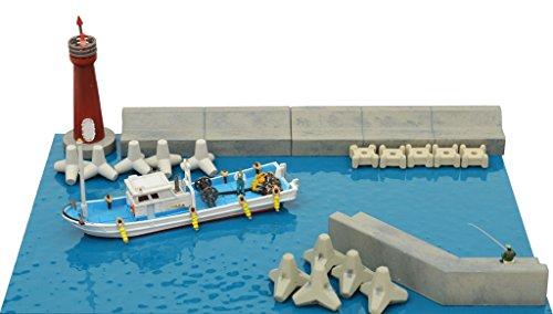 ジオコレ 情景小物 123 海辺の情景セット B