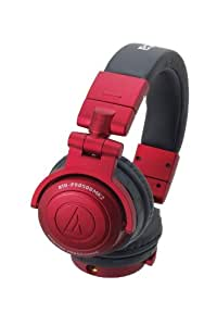 audio-technica 密閉型DJモニターヘッドホン 着脱コードタイプ レッド ATH-PRO500MK2 RD