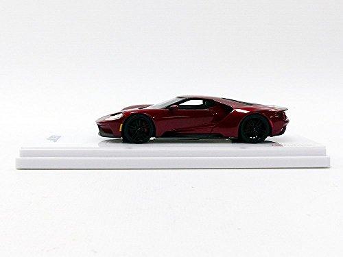 Truescale Miniatures Tsm Model   Ford Gt Liquid Red