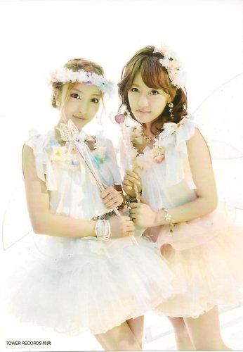 AKB48公式生写真 ギンガムチェック tower records 特典生写真 【板野友美 高橋みなみ】