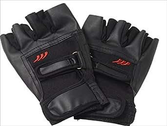 [Jack-Army]正規代理店 熱い戦闘の為に指先の感覚を研ぎ澄ます[シープスキン 半指 グローブ 黒]手袋