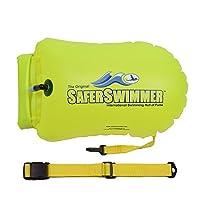 ishof Saferswimmer PVC安全水泳Bouyとドライバッグストレージ