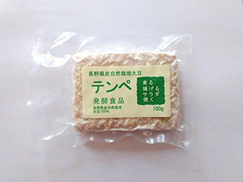 長野県自然栽培大豆テンペ100gx10個