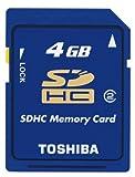 TOSHIBA SDHCメモリカード 4GB Class2 SD-C04GT2