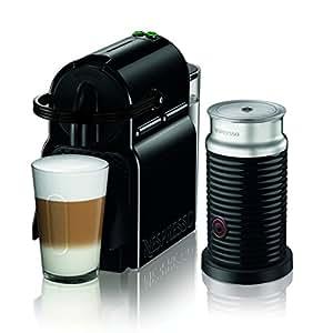 【Amazon.co.jp限定】ネスプレッソ コーヒーメーカー イニッシア エアロチーノセット ブラック D40BK-A3B