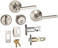 デッドボルト、Keyed 1側、Latitudeレバーセキュリティセット Security Set_Latitude FB50N V LAT 619