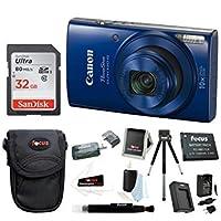 Canon PowerShot ELPH 190は20MPデジタルカメラ(レッド) + Sony 16GBメモリカード+フォーカスMedium Point & Shootカメラアクセサリーバンドル