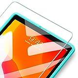 ESR iPad 10.2 フィルム 2019(第7世代) ガラスフィルム 液晶保護 iPad Air 3 2019 iPad Pro 10.5通用[簡単貼り付けフレーム][耐スクラッチ][硬度9H] HD透明度透明度プレミアム強化ガラス液晶保護フィルム 1枚入り