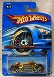 Hot Wheels (ホットウィール) Dodge (ドッジ) Tomahawk Motorcycle Gold #176 No シリーズ ミニカー ダイキャスト 車 自動車 ミニチュア 模型 (並行輸入)