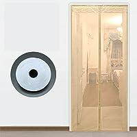 磁気スクリーン ドア蚊,大型メッシュ スクリーン ソフト画面ドア夏家庭の台所寝室画面ドア フルフレーム velcro ファブリック画面ウィンドウ-C 100x220cm(39x87inch)