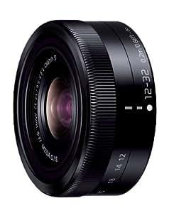 Panasonic 標準ズームレンズ マイクロフォーサーズ用 ルミックス G VARIO 12-32mm/F3.5-5.6 ASPH./MEGA O.I.S. ブラック H-FS12032-K