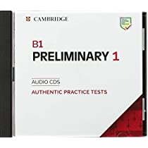 Cambridge English Preliminary 1 for revised exam from 2020. Audio CD