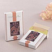 BOXタイプ高級あぶらとり紙 鹿 500枚入(茶紙)