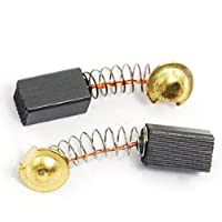 DealMux 20個X 9/32 X 1/4 1/2電気モーターカーボンブラシ