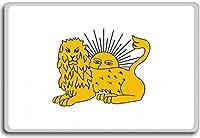 Diplomatic Flag Of Fat'h Ali Shah (1785-1925), Early Qajar Dynasty, Historic flags of Iran fridge magnet - 蜀キ阡オ蠎ォ逕ィ繝槭げ繝阪ャ繝