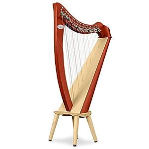 Salvi Harps イタリア製 小型レバーハープJuno(ジュノ) 27弦 チェリー