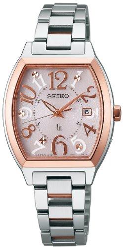 [セイコー]SEIKO 腕時計 LUKIA ルキア ソーラー電波修正 サファイアガラス スーパークリア コーティング SSVW048 レディース