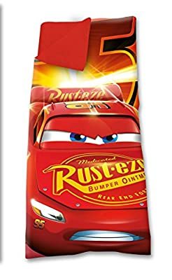 Kids wd19133 Licencing - Sleeping Bag - Cars 3 - Easy to Carry