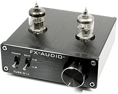 FX-AUDIO- TUBE-01J【ブラック】真空管プリアンプ(ラインアンプ) NFJオリジナルモデル