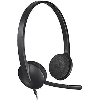 ロジクール ヘッドセット パソコン用 H340r ステレオ USB接続 ノイズキャンセリングマイク搭載 国内正規品 3年間メーカー保証