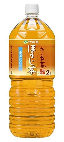 伊藤園 おーいお茶 ほうじ茶 2L×10本