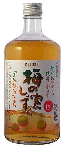 秋田県醗酵 デラックス 梅の実しずく 720ml