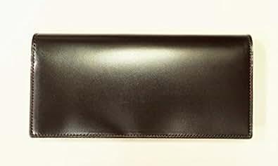 【キプリス/CYPRIS】 5801 オイルシェルコードバン&ベジタブルタンニン ・長財布(カード&札入れ) (チョコ)