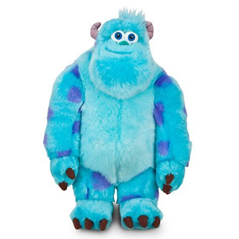 Disney ディズニー Sulley Plush - Monsters University - 15'' H モンスターズ・ユニバーシティ サリー ぬいぐるみ 約38cm 並行輸入品