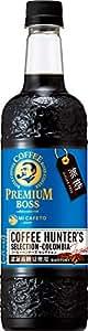 サントリー プレミアムボス コーヒーハンターズセレクション無糖 750ml