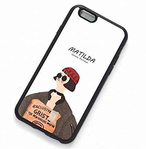 おしゃれ 映画 LEON iPhone 8 Plus iPhone 7 Plus スマホカバー スマホケース TPU 素材 プレゼント 【マチルダ】