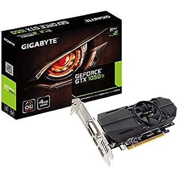 GIGABYTE NVIDIA GeForce GTX 1050Ti 搭載 グラフィックボード 4GB ロープロファイル対応モデル GV-N105TOC-4GL