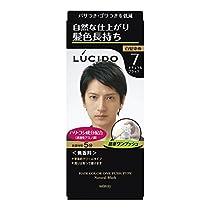 ルシード ワンプッシュケアカラー ナチュラルブラック 1剤50g・2剤50g 【医薬部外品】