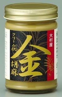 ねりごま (金) 170g×6瓶 大村屋 適度に焙煎し、少し粗めにすりつぶした香味豊かなペースト状のゴマ サラダや担々麺に