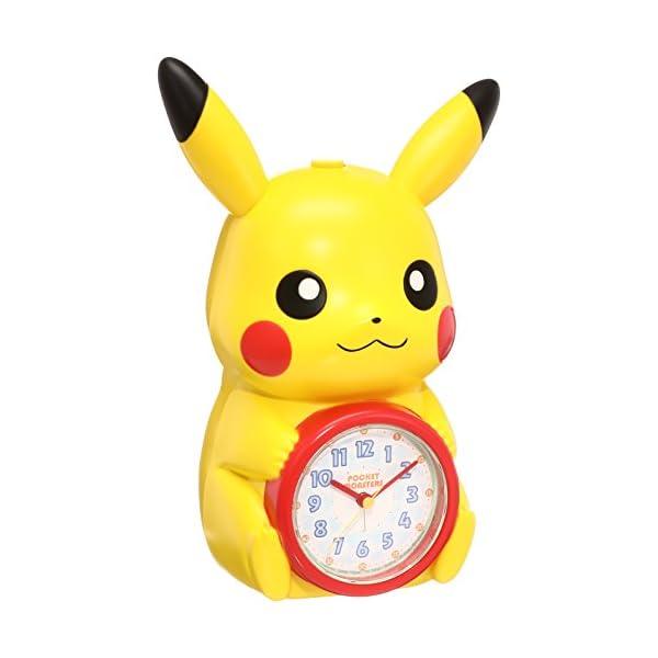 セイコー クロック 目覚まし時計 ポケットモンス...の商品画像